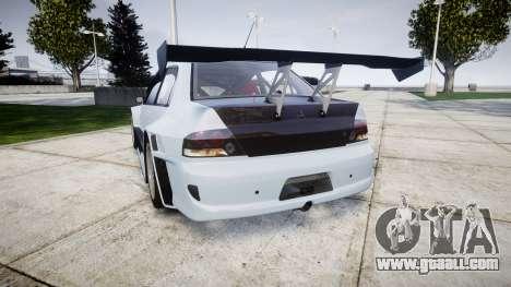 Mitsubishi Lancer Evolution IX for GTA 4 back left view