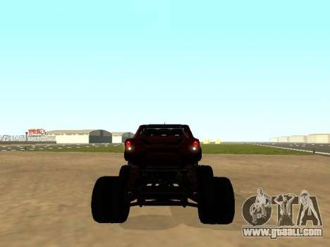 SuperMotoXL Zen MaXXimus CD 17.1 XL-HT for GTA San Andreas right view