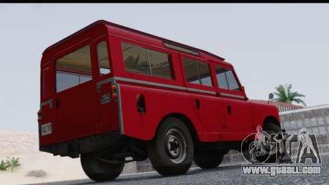 Land Rover Series IIa LWB Wagon 1962-1971 for GTA San Andreas left view