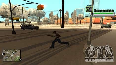 C-HUD v5.0 for GTA San Andreas sixth screenshot