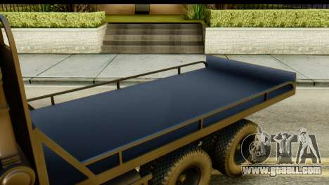 KamAZ 65115 Tow DPS for GTA San Andreas back view