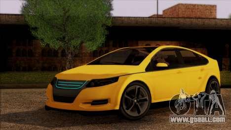 Cheval Surge 1.1 (IVF) for GTA San Andreas