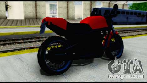 Streetfighter from Vice City Stories for GTA San Andreas left view