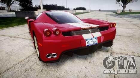 Ferrari Enzo 2002 [EPM] Stripes for GTA 4 back left view
