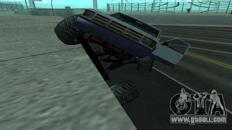 The new physics of cars v2 for GTA San Andreas third screenshot