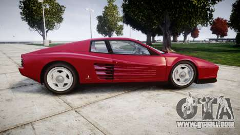 Ferrari Testarossa 1986 v1.2 [EPM] for GTA 4