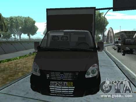 GAZel 3302 for GTA San Andreas left view