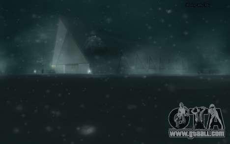 Snow Mod for GTA San Andreas fifth screenshot