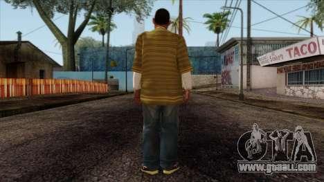 GTA 4 Skin 73 for GTA San Andreas second screenshot