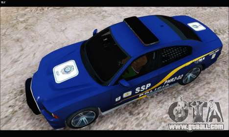 Dodge Charger SXT PREMIUM V6 SSP DF 2014 for GTA San Andreas back left view