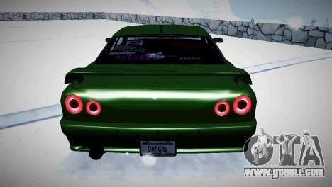 Elegy Stance for GTA San Andreas back view