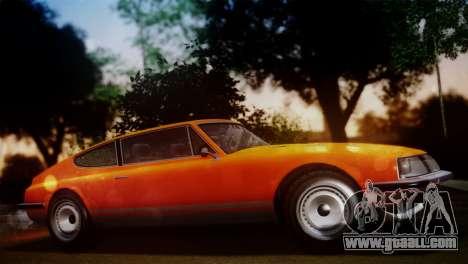 GTA 5 Lampadati Pigalle SA Plate for GTA San Andreas