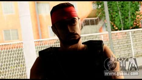 Counter Strike Skin 1 for GTA San Andreas third screenshot