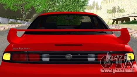 Nissan Silvia S14 Ks for GTA San Andreas inner view