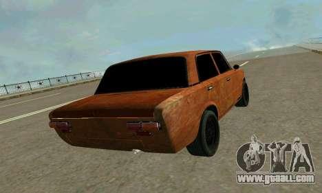 VAZ 2101 Ratlook v2 for GTA San Andreas inner view