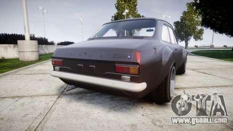Ford Escort Mk1 for GTA 4 back left view