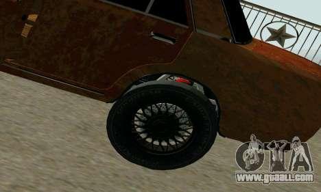 VAZ 2101 Ratlook v2 for GTA San Andreas right view