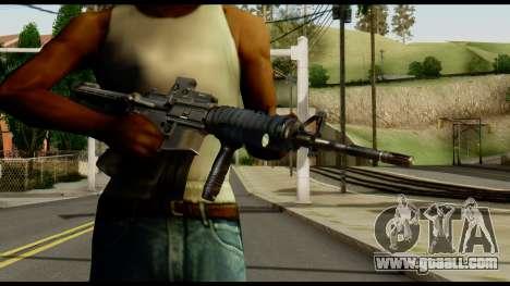 SOPMOD from Metal Gear Solid v2 for GTA San Andreas third screenshot