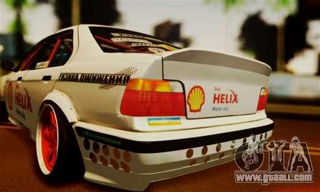 BMW M3 E36 Darnitsa Bandits for GTA San Andreas back view