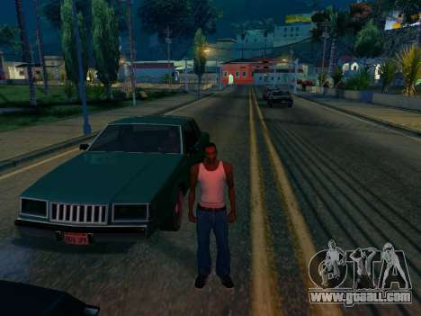 Graphic Mod Eazy v1.2 for weak PC for GTA San Andreas second screenshot