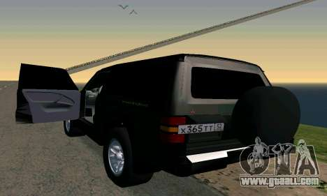 Mitsubishi Pajero Intercooler Turbo 2800 for GTA San Andreas