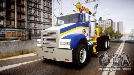 HVY Biff Indonesian Jasamarga Tow Truck [ELS] for GTA 4