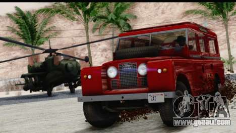 Land Rover Series IIa LWB Wagon 1962-1971 for GTA San Andreas right view