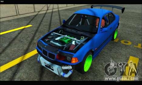 BMW e36 Drift Edition Final Version for GTA San Andreas