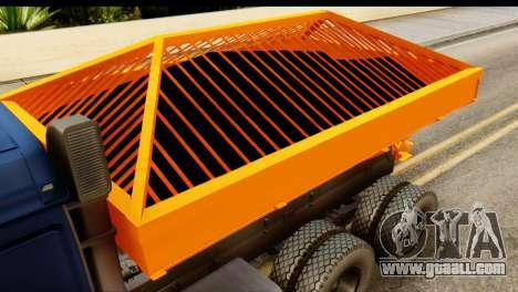 KamAZ 65115 Snow Thrower for GTA San Andreas