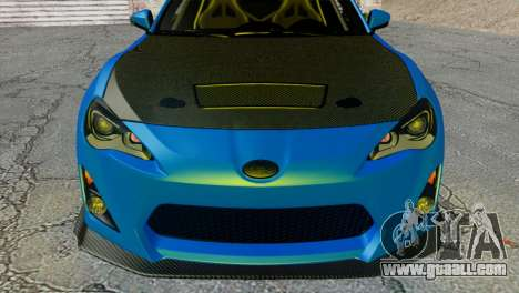 Subaru BRZ Drift Built for GTA San Andreas right view