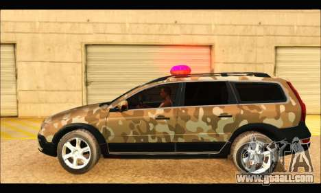 Volvo XC70 Camo for GTA San Andreas left view