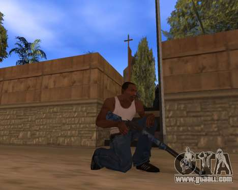 New Year's Weapon Pack for GTA San Andreas fifth screenshot