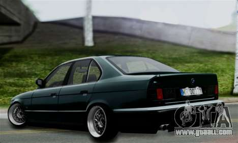 BMW 525 E34 Rims for GTA San Andreas left view