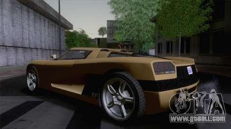 GTA V Overflod Entity XF v.2 (IVF) for GTA San Andreas left view