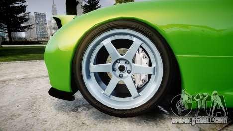 Mazda MX-7 for GTA 4 back view
