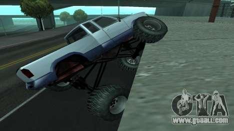 The new physics of cars v2 for GTA San Andreas