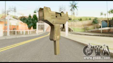 New Micro SMG for GTA San Andreas