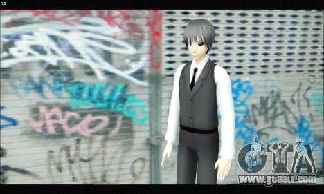 Kaneki Ken (Tokyo Ghoul) for GTA San Andreas