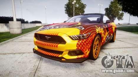 Ford Mustang GT 2015 Custom Kit alpinestars for GTA 4