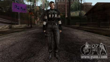 Resident Evil Skin 7 for GTA San Andreas