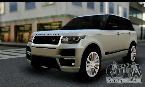 Range Rover IV 3.0 AT for GTA San Andreas