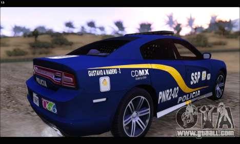 Dodge Charger SXT PREMIUM V6 SSP DF 2014 for GTA San Andreas left view
