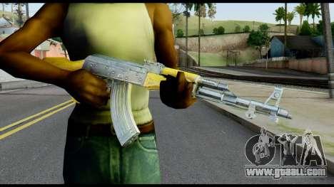 AK47 from Max Payne for GTA San Andreas third screenshot