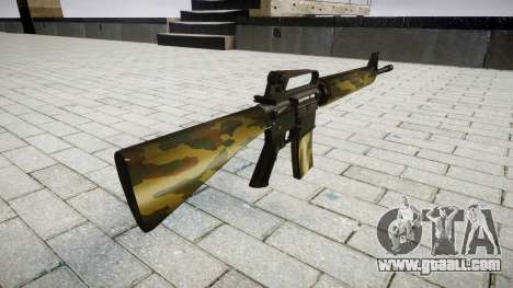 The M16A2 rifle flora for GTA 4 second screenshot