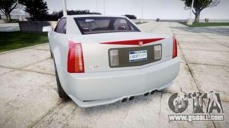 Cadillac XLR-V 2009 for GTA 4 back left view