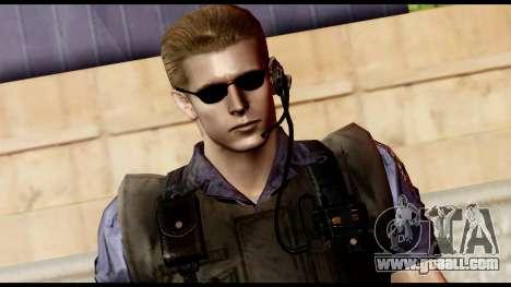 Resident Evil Skin 11 for GTA San Andreas third screenshot