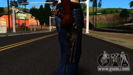 Pistol from Shadow Warrior for GTA San Andreas third screenshot