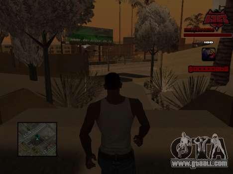 C-HUD Raisers for GTA San Andreas sixth screenshot