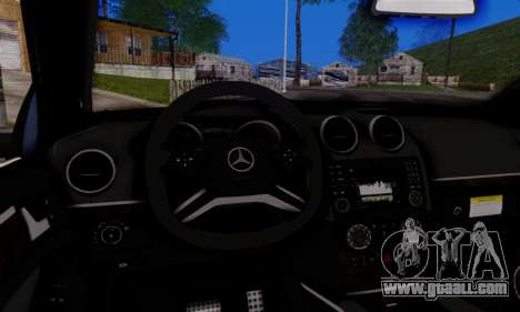 Mercedes-Benz ML63 AMG for GTA San Andreas inner view