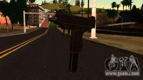 Micro SMG from GTA 4 for GTA San Andreas